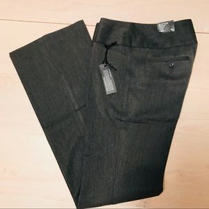 NWT gray Express wide waistband Editor pants